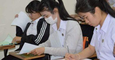 นักศึกษาสาขาวิชาเศรษฐศาสตร์เข้าร่วมโครงการฝึกทักษะการสร้างสมรรถนะทางด้านภาษา